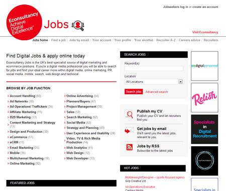 Econsultancy Jobs
